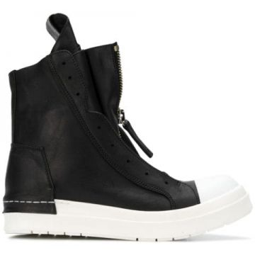 Hi-top Zipped Sneakers - Cinzia Araia