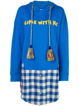 Moletom Oversized Come With Me - Mira Mikati