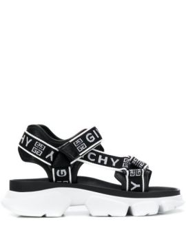Jaw Chunky Sandals - Givenchy