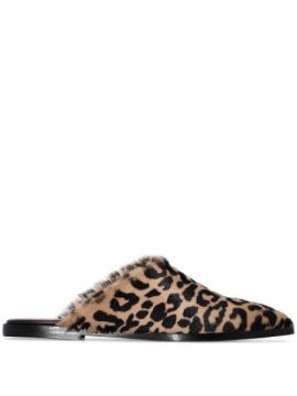 Slipper Anzi Animal Print - Atp Atelier