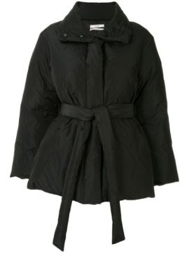 Belted Puffer Jacket - Co