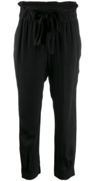 Loose Fit Tapered Trousers - Chufy