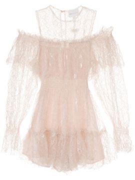 One In A Million Lace Playsuit - Alice Mccall