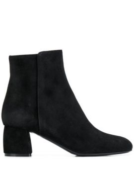 Block Heel Ankle Boots - Agl
