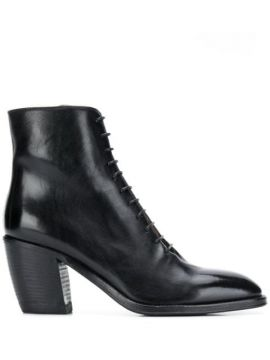 Lace-up Ankle Boots - Alberto Fasciani
