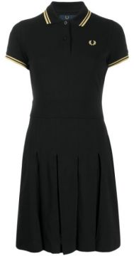 Embroidered Logo Polo Dress - Fred Perry