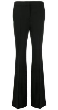 High-waisted Flared Trousers - Moschino