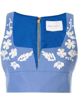 Pastime Paradise Cropped Top - Alice Mccall