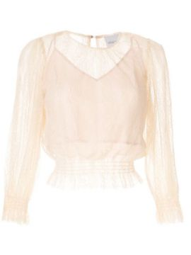 Harvest Moon Ruched Blouse - Alice Mccall