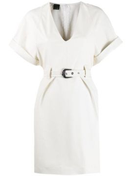 Belted Mini Dress - Pinko