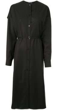 Dropped Shoulder Shirt Dress - Boyarovskaya
