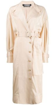 Belted Trench Coat - Jacquemus