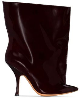 Ankle Boot De Couro - Y/project