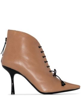 Mae Lace-up Ankle Boots - Fabrizio Viti