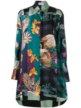 Silk Susanne Oversized Shirt - Salvatore Ferragamo