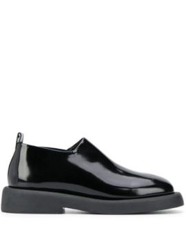 Textured Slip-on Loafers - Marsèll