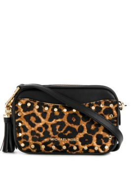 Leopard Print Camera Bag - Michael Michael Kors