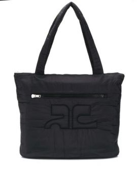 Quilted Oversized Shopper Bag - Courrèges Eyewear