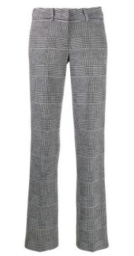 Houndstooth Print Trousers - Cambio