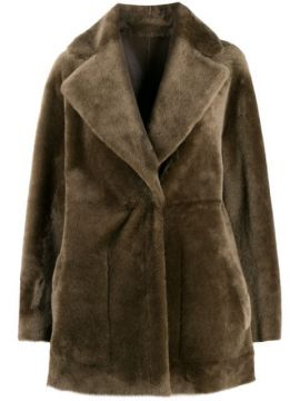 Reversible Single-breasted Coat - Blancha