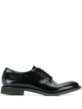 Patent Lace-up Shoes - Del Carlo