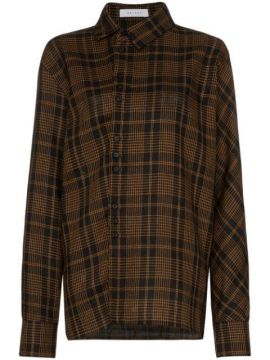 Checked Long-sleeve Shirt - Delada
