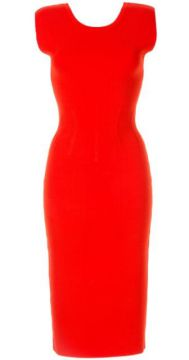 Valour Fitted Knit Dress - Ginger & Smart
