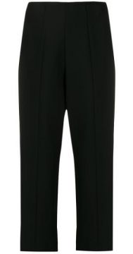 Straight Cropped Trousers - Courrèges
