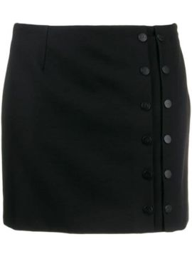 Buttoned Mini Skirt - Artica Arbox