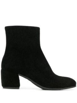 Zipped Ankle Boots - Del Carlo