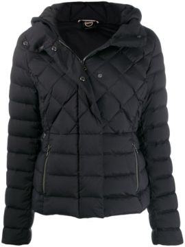 Quilted Hooded Jacket - Colmar