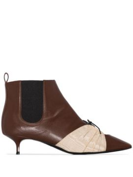 Ankle Boot Com Recortes - Rosie Assoulin