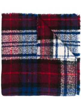 Two-sided Check Scarf - Altea