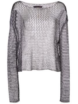 Metallized Top - Alexa Chung