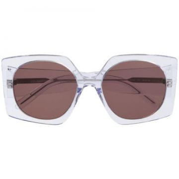 Oversized Geometric Sunglasses - Courrèges Eyewear
