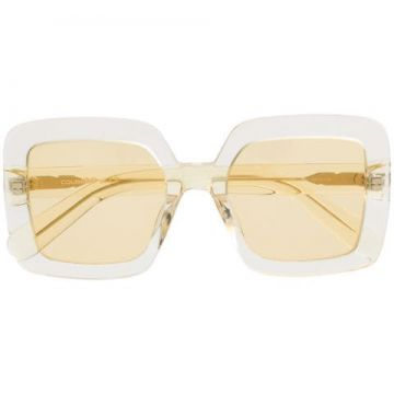 Tinted Square Sunglasses - Courrèges Eyewear