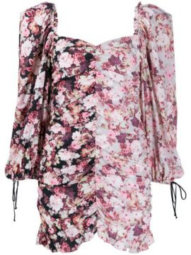 Floral Print Mini Dress - For Love And Lemons