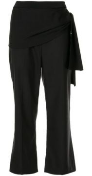 Side Tie Cropped Trousers - 3.1 Phillip Lim