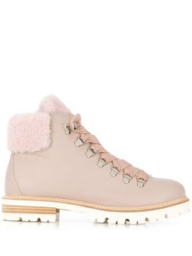 Ankle Lace-up Boots - Agl
