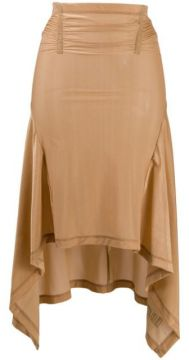 Sheer Pull-on Skirt - Charlotte Knowles
