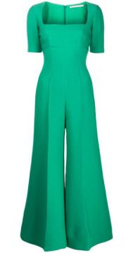 Audie Square-neck Jumpsuit - Emilia Wickstead