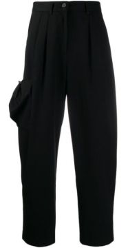 Drop-crotch Pocket Detail Trousers - Ader Error