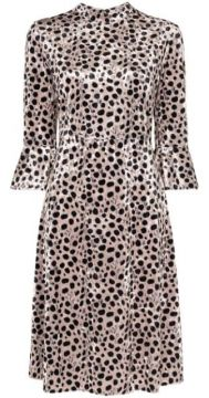 Vestido Midi Ashley Animal Print - Hvn