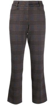 Felicity Houndstooth Cropped Trousers - Cambio