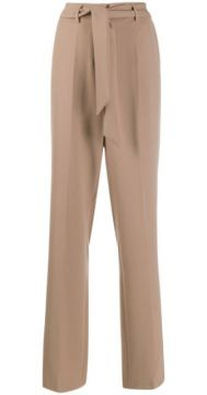 Belted Tailored Trousers - Cambio