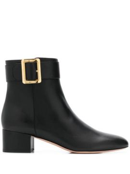 Ankle Boot Com Fivela - Bally