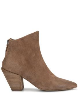 Zipped Ankle Boots - Marsèll