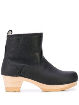 5 Pull On Shearling Clog Boot - No.6