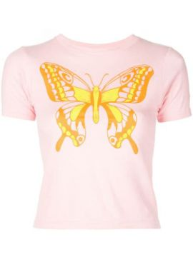 Butterfly Baby Fitted T-shirt - Callipygian