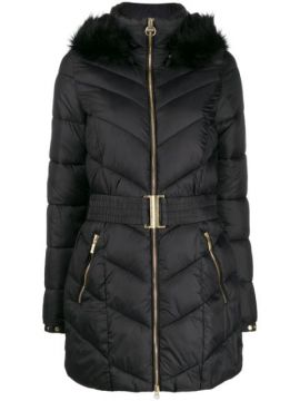 Belted Puffer Coat - Barbour